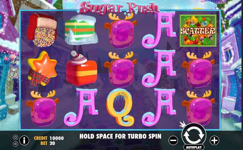 Play Sugar Rush Winter online with no registration required!