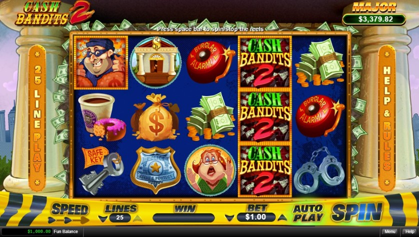 Cash Bandits 2 Free Play In Demo Mode