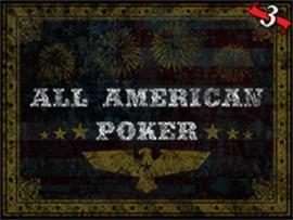 All American Poker - 3 Hands