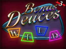 Bonus Deuces Wild - 3 Hands