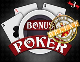 Bonus Poker Deluxe - 3 Hands