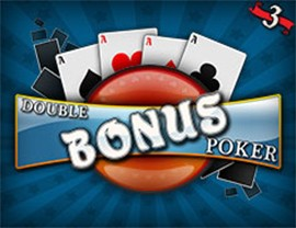 Double Bonus Poker - 3 Hands