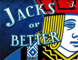 Jacks or Better - 3 Hands