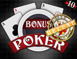 Bonus Poker Deluxe - 10 Hands