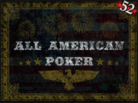 All American Poker - 52 Hands