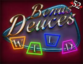 Bonus Deuces Wild - 52 Hands