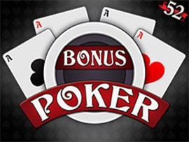 Bonus Poker - 52 Hands