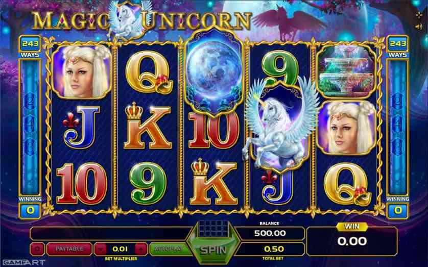spielen magic unicorn slot freispiele