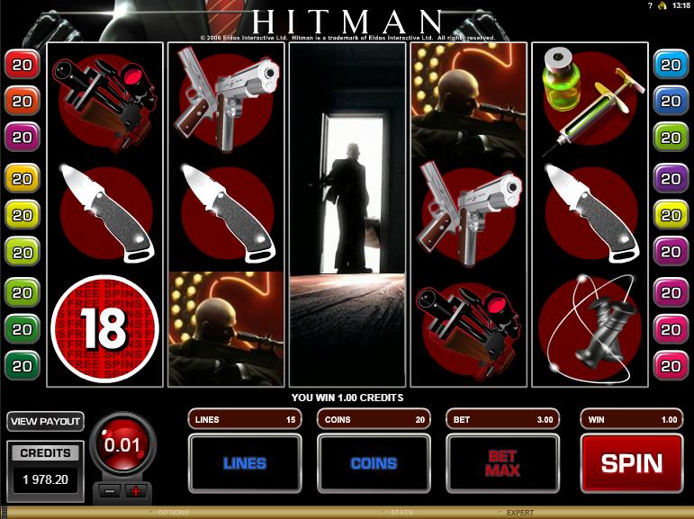 Hitman Expanding Wild Win