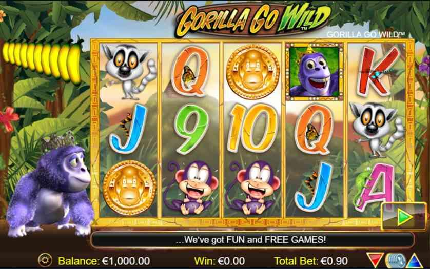 Spielen Sie Gorilla Go Wild H5 Kostenlos Im Demo Mode Von Nextgen Gaming