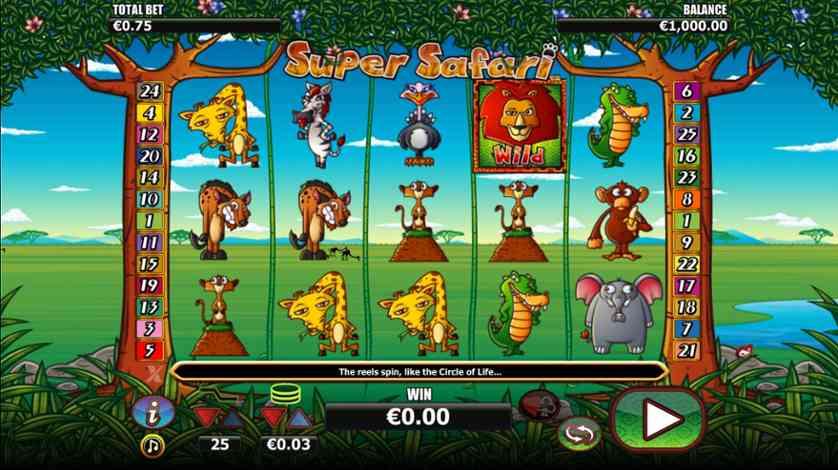 Spielen Sie Super Safari Kostenlos Im Demo Mode Von Nextgen Gaming