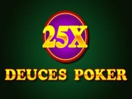 25x Deuces Poker