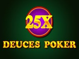 25x Deuces Poker