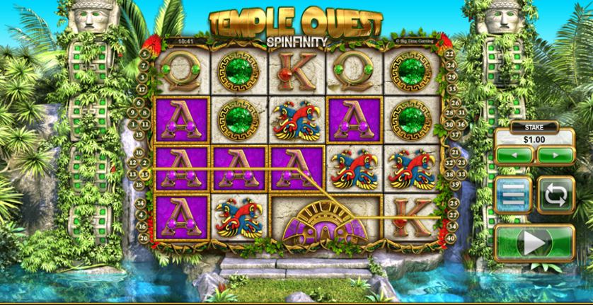 Play Temple Quest Slot Machine Free with No Download