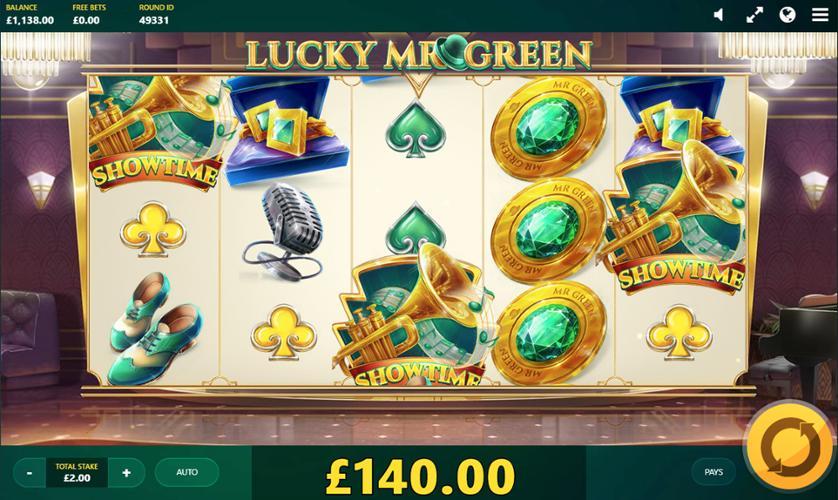 Lucky Mr. Green. Green