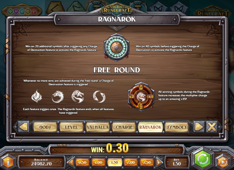 Free bonus round - Ragnarök