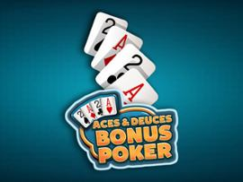 Aces & Deuces Bonus Poker