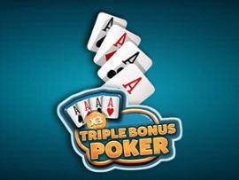 Triple Bonus Poker