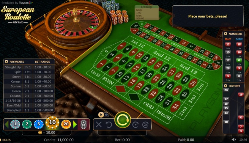 Spiele French Roulette 2D Advanced - Video Slots Online
