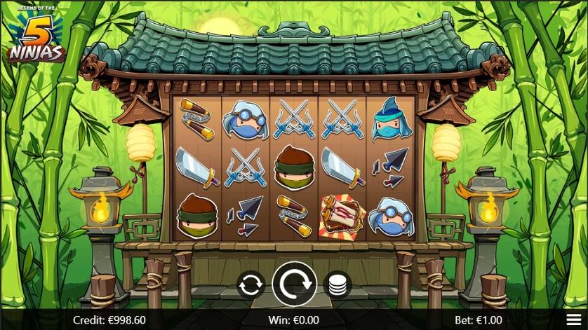 Legend of 5 Ninjas.jpg