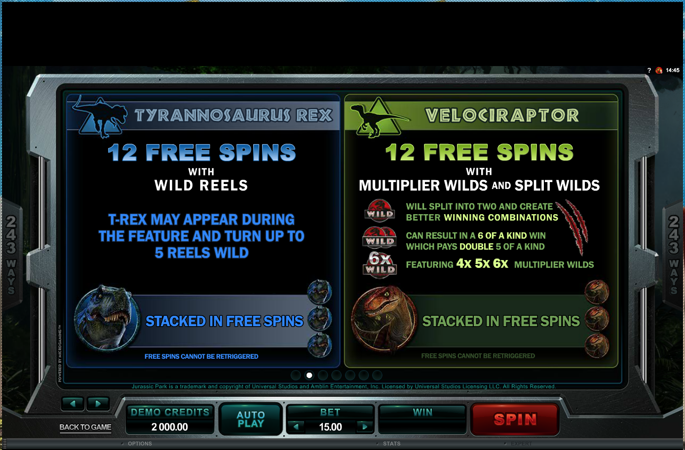 Free spins rules 1
