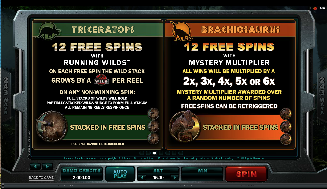 Free spins rules 2
