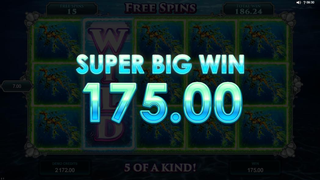 Big high symbol win