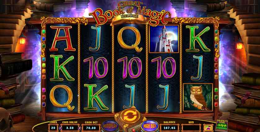 Play Book of Magic free online slots with no download required!