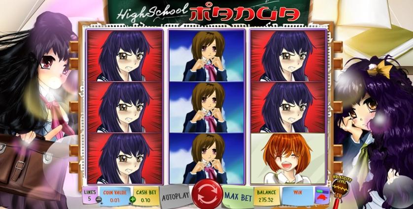 Spielen Sie Highschool Manga kostenlos im Demo Mode von Wazdan