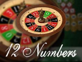 12 Number Roulette (Espresso)