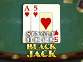 Single Deck BJ (Espresso)