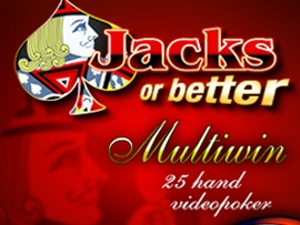 25H Jacks or Better (Espresso)