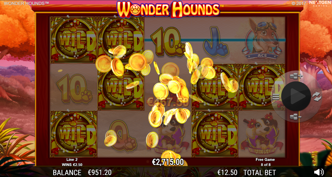 Huge win from free spins