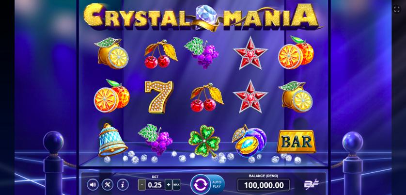 Spielen Sie Crystal Mania Kostenlos Im Demo Mode Von BF Games