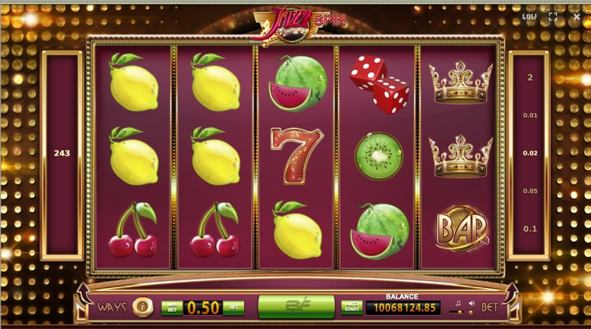 Blueprint gaming slots