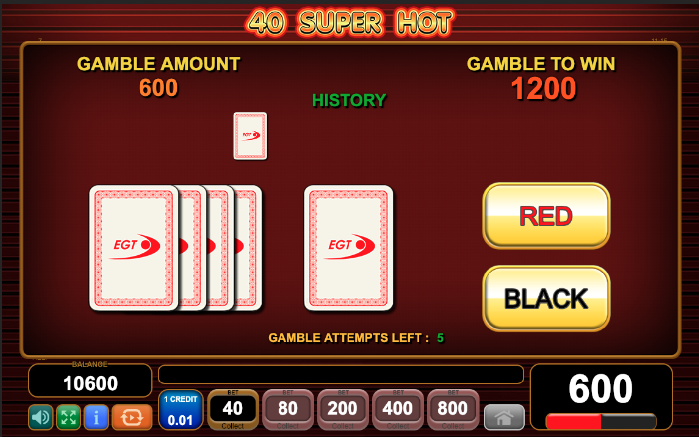 Gamble function