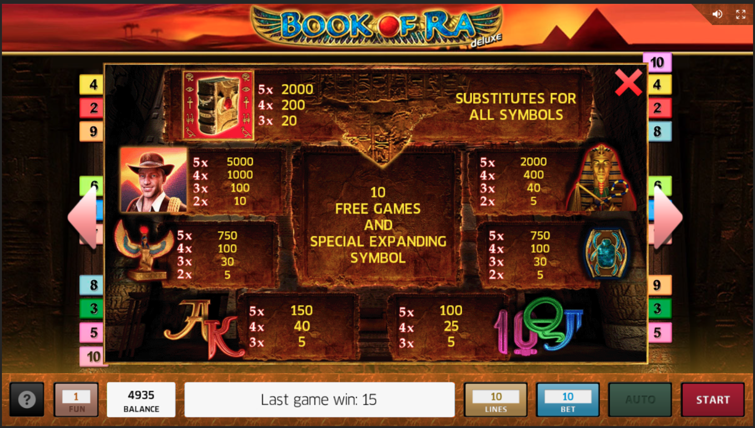 Book Of Ra Deluxe Giochi Gratis