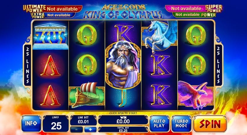 Spielen Sie Age Of The Gods: King Of Olympus Kostenlos Im Demo Mode Von Playtech