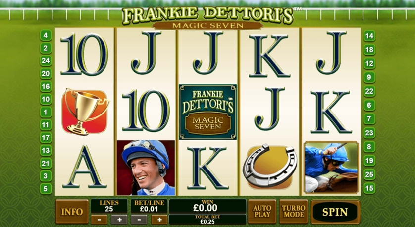 Frankie Dettori Magic Seven Rtp