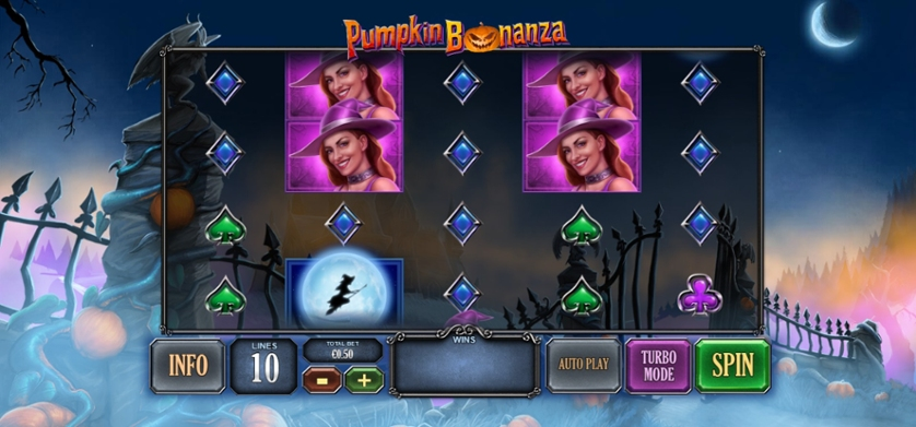 Pumpkin Bonanza Free Play In Demo Mode