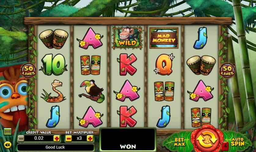 Spielen Sie Monkey Luck kostenlos im Demo Mode von TOPTrend Gaming