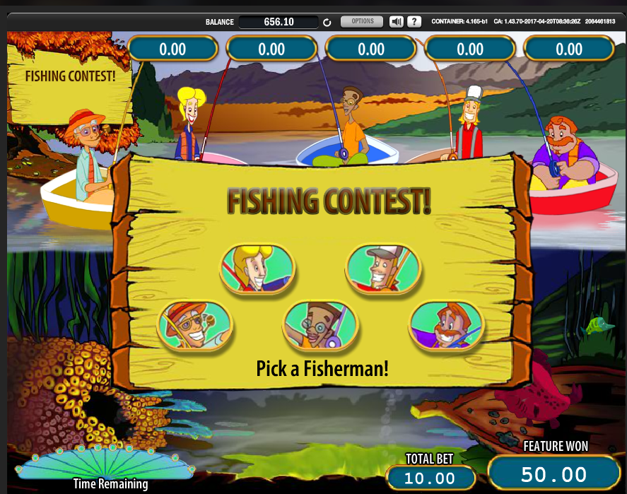 Reel'em In Fishing contest bonus