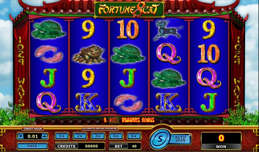 Play Free Fortune 8 Cat Game
