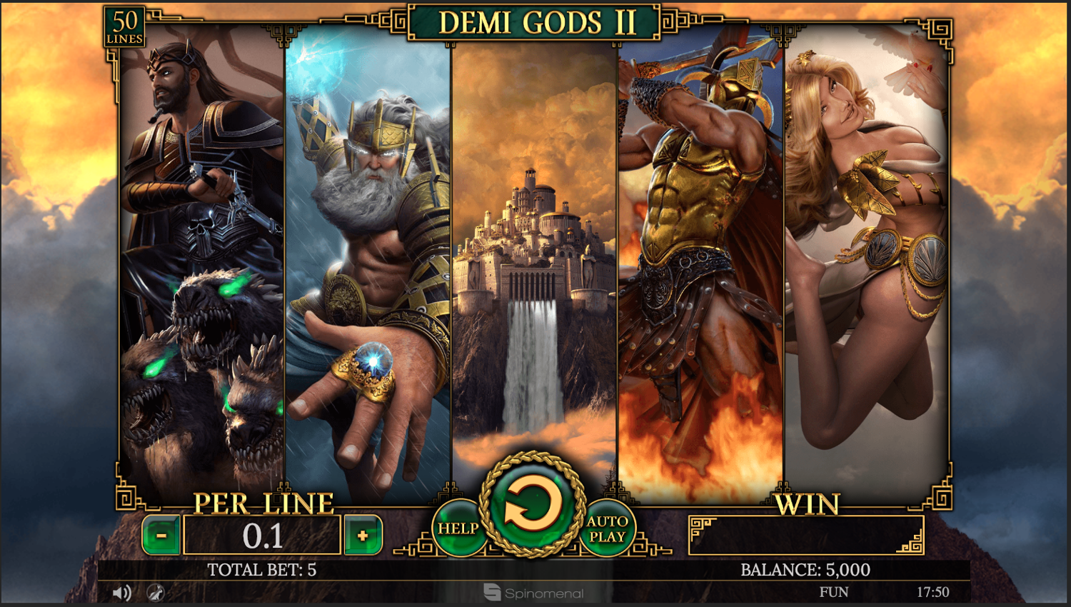 Demi Gods II All Gods