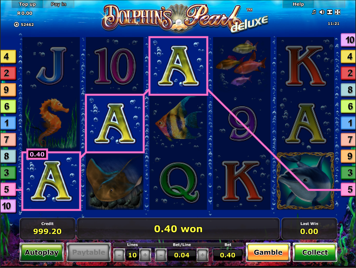 Dolphin's Pearl Deluxe simple win