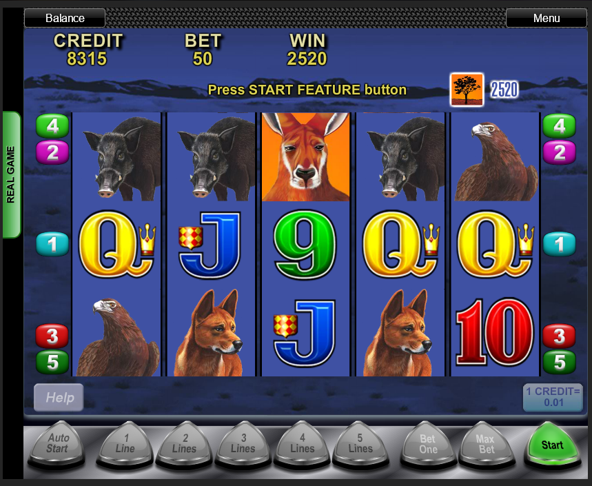 Big Red free spins symbol hit