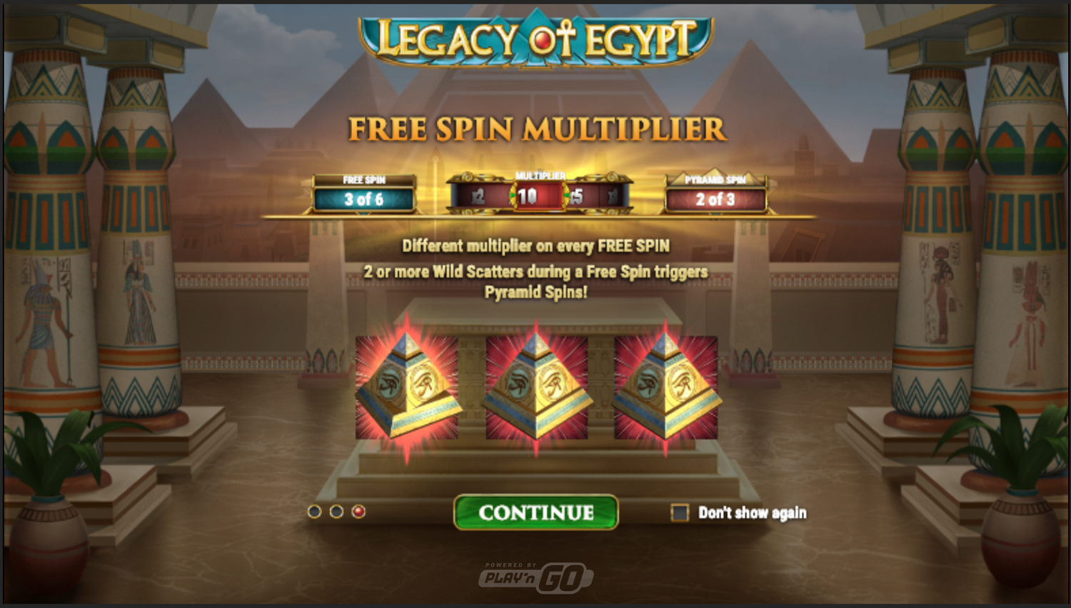 Free spins multiplier