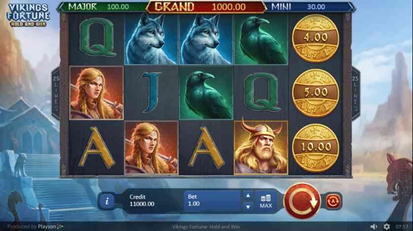 Spielen Sie The Vikings kostenlos im Demo Mode von PlayPearls