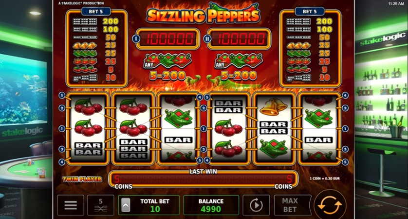 Sizzling Peppers Free Play In Demo Mode
