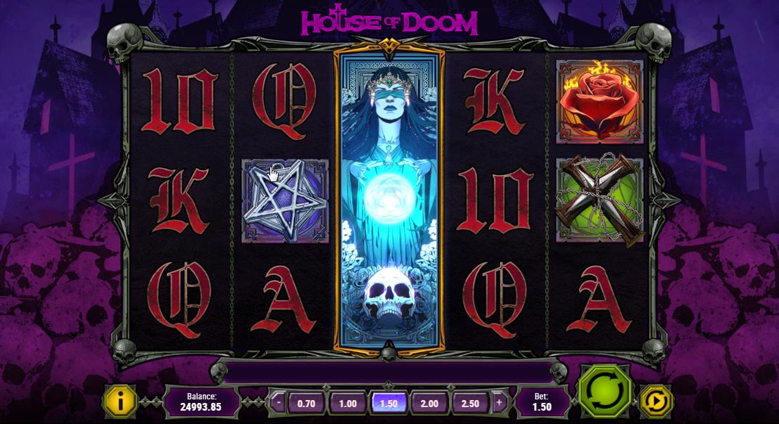 House of Doom - Expanding Wild symbol